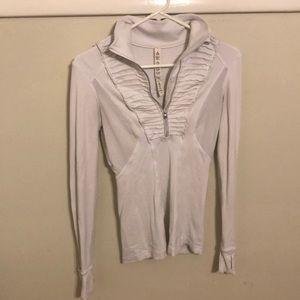 Lululemon white shirt